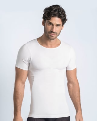 skinfuse mens compression t-shirt-000- White-MainImage