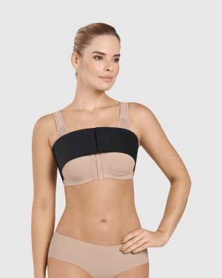 breast and chest compression wrap-700- Black-MainImage