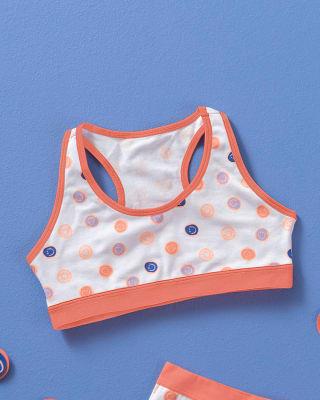 girls stretch cotton racerback bra-A57- Fondo Blanco-MainImage