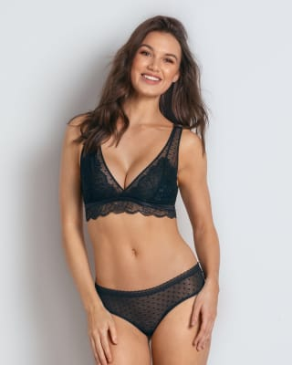 sheer scalloped lace bralette--MainImage