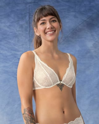 sheer lace bralette with underwire--MainImage
