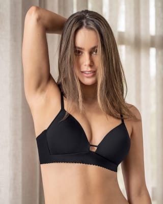 perfect comfort deep plunge bra--MainImage