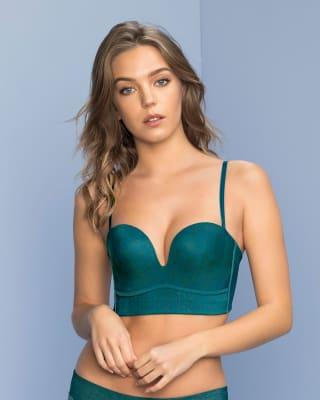 long line strapless push-up bra--MainImage