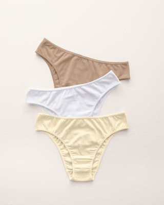 paquete de 3 tangas de algodon con refuerzo en abdomen-S08- Assorted-ImagenPrincipal