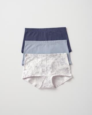 komfortable panties aus stretchiger baumwolle 3er pack-S14- Multicolor-MainImage