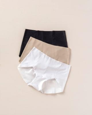 3 full coverage comfy classic panties--MainImage
