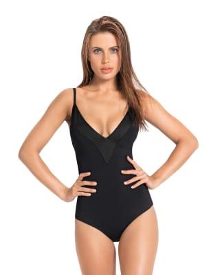 klassischer badeanzug mit tiefem ausschnitt-700- Black-MainImage