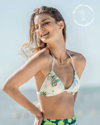 top de bikini ideal para broncearte elaborado con pet reciclado-574- Estampado Palmeras-MainImage