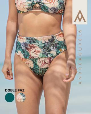 panty de bikini tiro alto doble faz en pet reciclado-064- Estampado Flores-MainImage