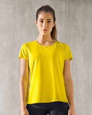camiseta deportiva de secado rapido y silueta semiajustada-121- Amarillo Neon Medio-MainImage