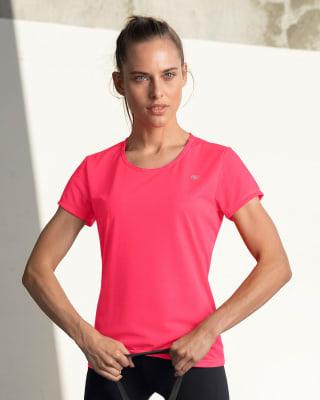 camiseta deportiva de secado rapido y silueta semiajustada-345- Fucsia-ImagenPrincipal