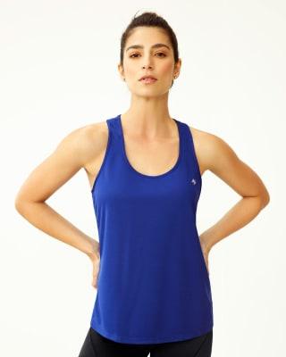 camiseta deportiva de secado rapido y silueta amplia-547- Azul-MainImage