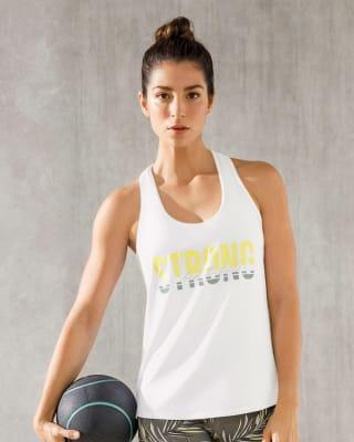 camiseta deportiva de espalda atletica de secado rapido frescura total-000- White-MainImage
