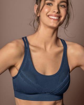 top deportivo sin corturas de secado rapido y malla transpirable en espalda-589- Azul-ImagenPrincipal