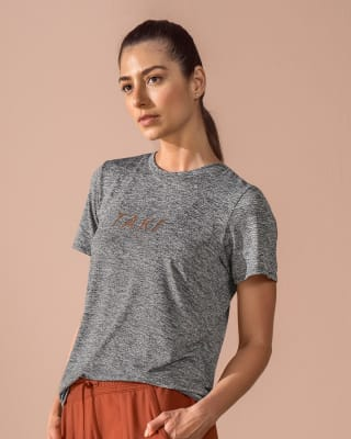 camiseta deportiva manga corta con abertura en espalda-732- Gris Jaspe-ImagenPrincipal