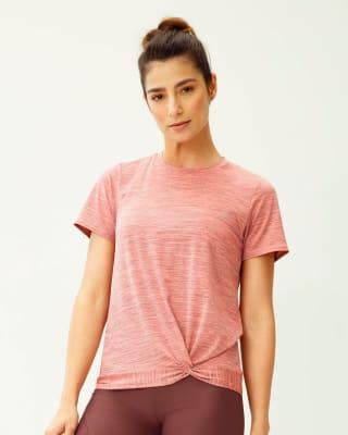 camiseta deportiva de secado rapido manga corta-099- Estampado Rosa-MainImage