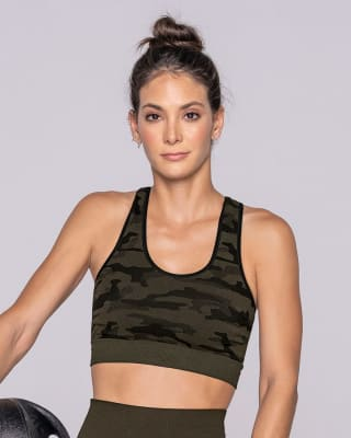 seamless reversible sports bra-695- Verde Oscuro-MainImage