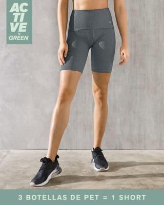eco friendly high waist bike shorts--MainImage
