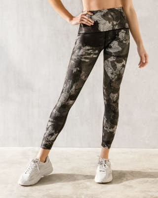 eco-friendly abstract graphic slimming legging-700- Est.Negro-MainImage