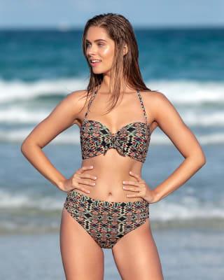 knotted contour top bikini-896- Print-MainImage