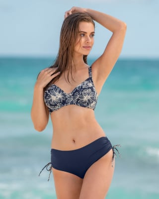 adjustable bottom triangle bikini-516- Blue-MainImage