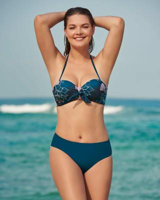 bikini con top de copas fijas y panty doble faz-563- Estampado Azul-ImagenPrincipal