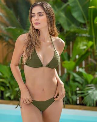 bikini con top de poco cubrimiento y tanga brasilera ideal para bronceo-629- Verde Medio-MainImage