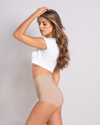 3 full hi-waist brief panties--MainImage