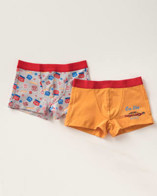 2-pack of leo boys cotton boxer briefs-S35- Assorted-MainImage