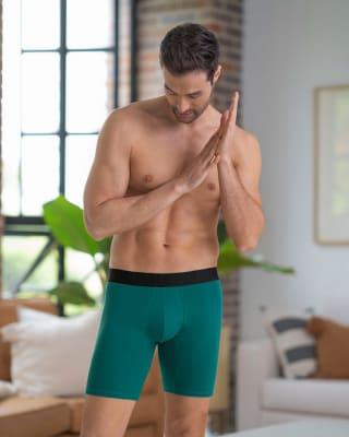 paquete x2 boxer largo ajustado en algodon-S49- Fdo Azul / Verde Oscuro-MainImage
