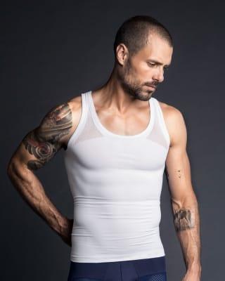 pack x2 camisetas de compresion para hombre-000- White-MainImage