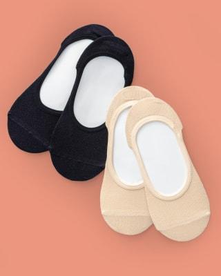 paquete x2 calcetin baleta algodon-968- Multicolor-MainImage