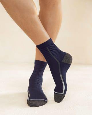 paquete x 2 calcetines media cana azul y blanco-968- Surtido-MainImage