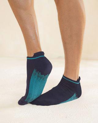 paquete x 3 calcetines tobilleros deportivos azul blanco y negro-968- Surtido-MainImage