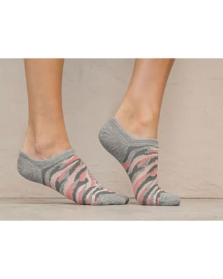 paquete x2 calcetines baleta tenis gris y animal print-968- Surtido-MainImage