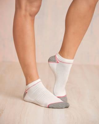 paquete x 2 calcetines tobilleros deportivos blanco y gris-968- Surtido-MainImage