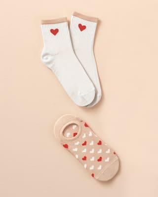 paquete x 2 calcetines tobilleros y media cana-968- Surtido-MainImage