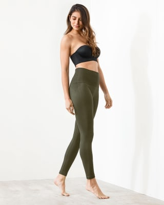 legging tiro alto con control suave de abdomen ultracomodo y flexible-695- Verde Oscuro-MainImage