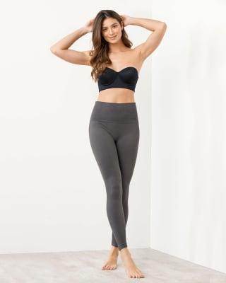 legging tiro alto con control suave de abdomen ultracomodo y flexible-719- Gris Medio-MainImage