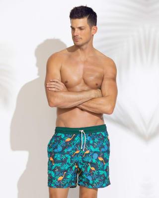 pantaloneta estampada con bolsillos y malla interior-540- Dark Blue-ImagenPrincipal
