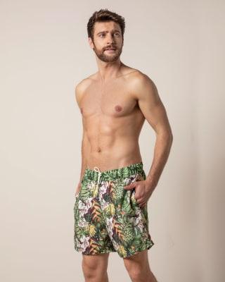 pantaloneta de bano para hombre con cordon ajustable-447- Uva-ImagenPrincipal