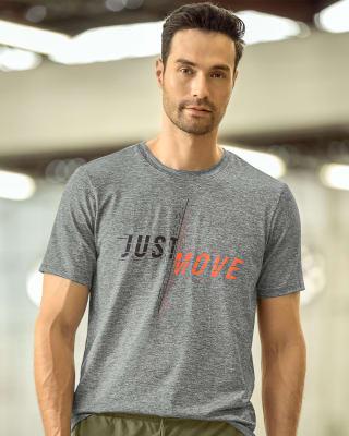 camiseta deportiva de secado rapido con estampado en frente-727- Gris-MainImage