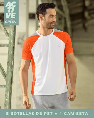 camiseta deportiva con mallas transpirables elaborada con pet reciclado-000- Blanco-MainImage
