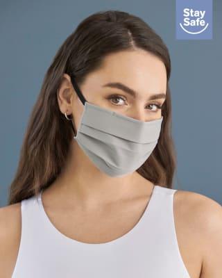 paquete x2 tapabocas triple capa de proteccion-990- Gris-MainImage