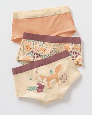 paquete x 3 panties tipo hipster en algodon suave para nina-S33- Surtido-MainImage