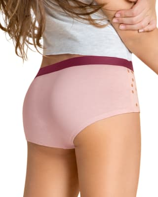 paquete x 5 panties tipo hipster en algodon suave-S06- Assorted-MainImage