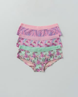 3 hip hugger panties in cotton-S30- Multicolor-MainImage