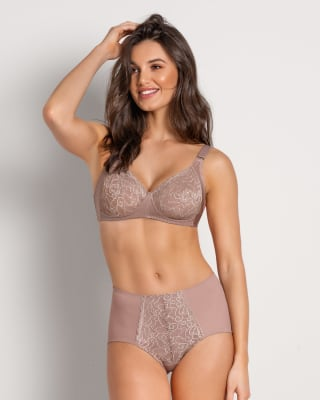 wireless comfy control bra in lace-281- Pink-MainImage