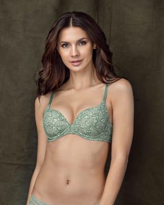 moderate push-up bra with multiway straps-836- Estampado-MainImage