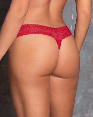 braguita tipo tanga con delicado encaje en cintura-302- Rojo-ImagenPrincipal